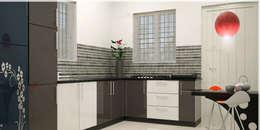 : modern Kitchen by Monnaie Architects & Interiors