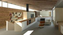 Projekty,  Domowe biuro i gabinet zaprojektowane przez Gallagher Lourens Architects