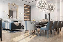 Exquisite flat in Paris.: Гостиная в . Автор – Виталий Юров