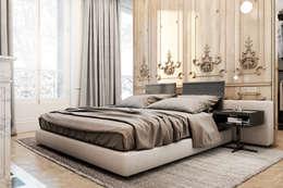 Exquisite flat in Paris.: Спальни в . Автор – Виталий Юров