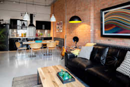 غرفة المعيشة تنفيذ Orchestrate Design and Build Ltd.