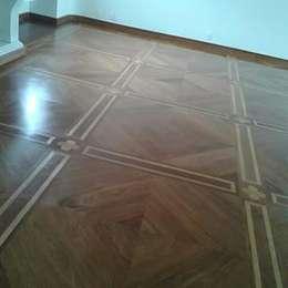 by Raspagem de piso de madeira