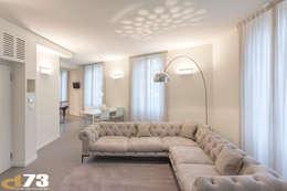 Salas / recibidores de estilo moderno por Studio D73