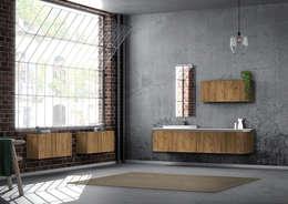 Projekty,  Łazienka zaprojektowane przez krayms A&D - Fa&Fra