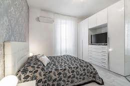 Projekty,  Sypialnia zaprojektowane przez Facile Ristrutturare