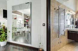 Pasillos, vestíbulos y escaleras de estilo moderno de EF_Archidesign
