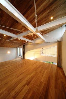 haus-kuro: 一級建築士事務所hausが手掛けた子供部屋です。