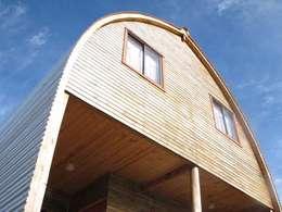 Casas de estilo moderno por Estudio Terra Arquitectura & Patrimonio