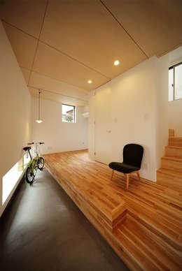 haus-gap: 一級建築士事務所hausが手掛けた廊下 & 玄関です。