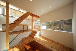 haus-gap: 一級建築士事務所hausが手掛けたリビングです。