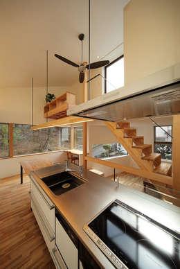 haus-gap: 一級建築士事務所hausが手掛けたキッチンです。
