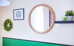 Projekty,  Salon zaprojektowane przez Progetti e caffè