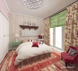 Спальня в стиле Прованс от мастерской IvE interior: Спальная комната  в . Автор – Iv-Eugenie