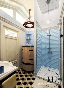 Санузел в Средиземноморском стиле от мастерской IvE interior: Ванная комната в . Автор – Iv-Eugenie
