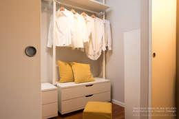 Projekty,  Garderoba zaprojektowane przez Rachele Biancalani Studio