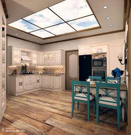 mediterranean Kitchen by Iv-Eugenie