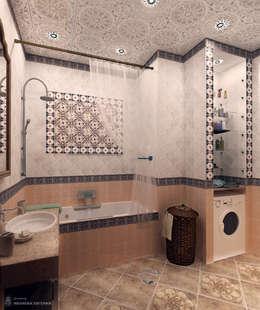 Ванная в Средиземноморском стиле: Ванные комнаты в . Автор – Iv-Eugenie