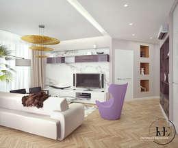 Гостиная в современном стиле от мастерской IvE interior: Гостиная в . Автор – Iv-Eugenie