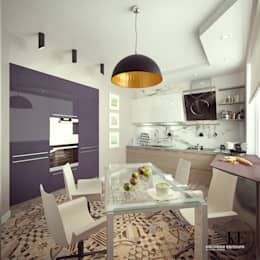 Кухня в современном стиле от мастерской IvE interior: Кухни в . Автор – Iv-Eugenie