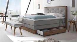 """Boxspringbett """"Moroni"""": landhausstil Schlafzimmer von Betten.de"""