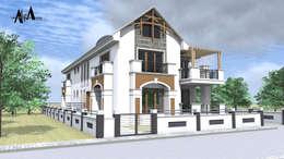 modern Houses by alfa mimarlık