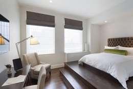 Penthouse Bedroom: modern Bedroom by Joe Ginsberg