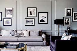 Living Room - The Pearl: modern Living room by Joe Ginsberg