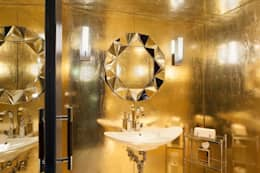 Bathrooms - Lobby Marmara Park Avenue Hotel:  Hotels by Joe Ginsberg
