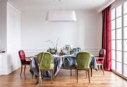 eclectic Dining room by Atelier Interior