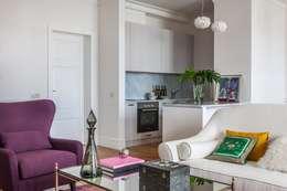 Квартира в центре Москвы: Гостиная в . Автор – Atelier Interior