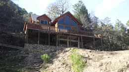 Casas de estilo rural por nuk arquitech