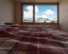 EFH J.: moderne Schlafzimmer von brack architekten