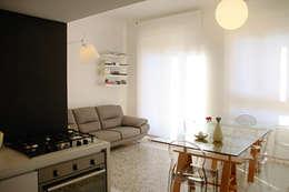 Casa K: Cucina in stile in stile Moderno di Progetto Kiwi Architettura