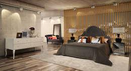 Dormitorios de estilo  por Laskasas