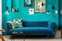 eclectic Living room by Insides
