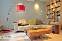 غرفة المعيشة تنفيذ 上云空間設計