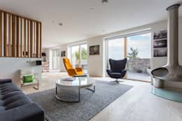 modern Living room by Neil Mac Photo