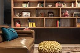غرفة المعيشة تنفيذ 祥祥設計有限公司