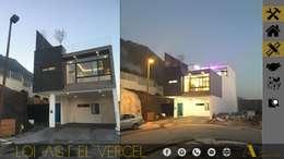 LOMAS DEL VERGEL/LG: Casas de estilo industrial por ADC arquitectos