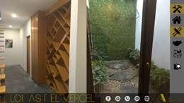 LOMAS DEL VERGEL/LG: Jardines de estilo industrial por ADC arquitectos