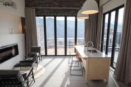 감각적이고 매력적인 국내 아파트 LDK형 거실 디자인 10