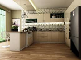 Residence Interiors : modern Kitchen by Blue Interiors