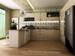 modern Kitchen by Blue Interiors