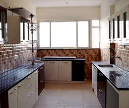 minimalistic Kitchen by Blue Interiors