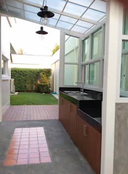 B also Single Storey Traditional Lots likewise Hot Tub Deck Designs together with Courtyard Ideas Outdoor Decorative together with Pool. on outdoor kitchen designs