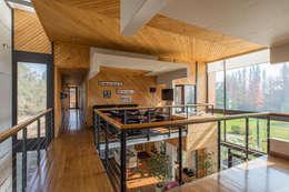Casa Rosales Quijada: Paredes de estilo  por GITC