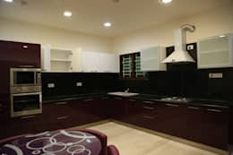 Residential projects: modern Kitchen by Antarangni Interior p ltd