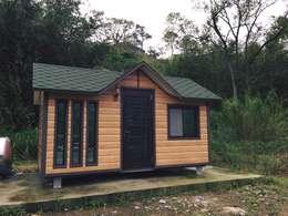 移動小屋:  房子 by 現代建材有限公司