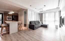 modern Living room by 觀林設計