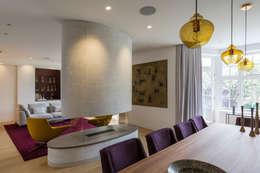 غرفة السفرة تنفيذ Studio Mark Ruthven